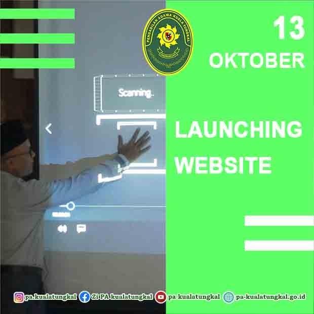 Pengadilan Agama Kuala Tungkal launching website baru